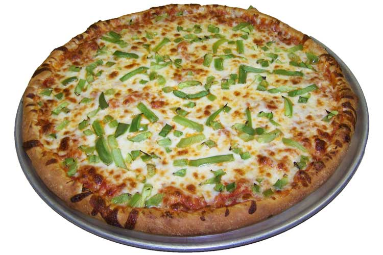 Pizza One Topping Green Peppers