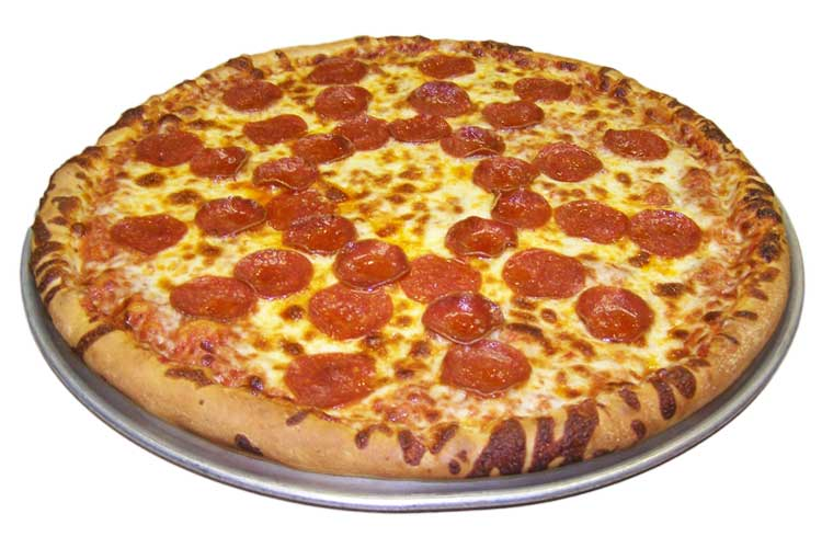 Pizza One Topping Pepperoni