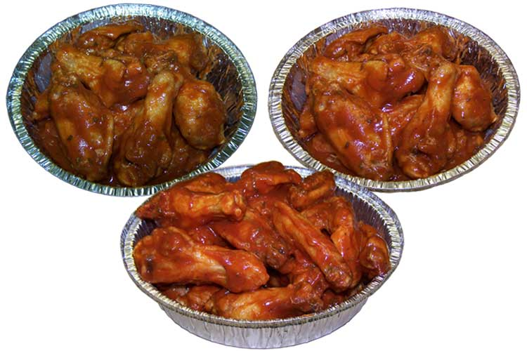 Wings Trays Party Order