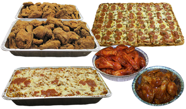 Party Catering Delivery Menu Items