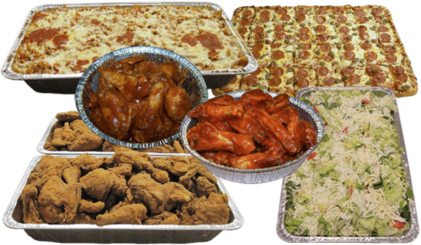 Party Trays and Large Orders Menu